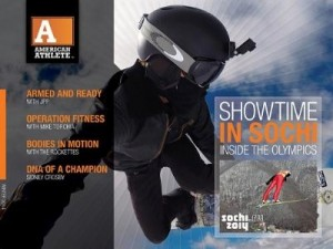 AMERICAN ATHLETE MAGAZINE'S HIGHLY ANTICIPATED WINTER 2014 ISSUE FOR IPAD ARRIVES. Interactive Magazine Features …